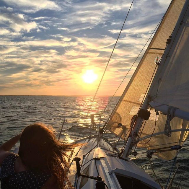 sailing into the sunset charter